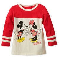 Image of Mickey and Minnie Mouse Long Sleeve T-Shirt for Girls # 1