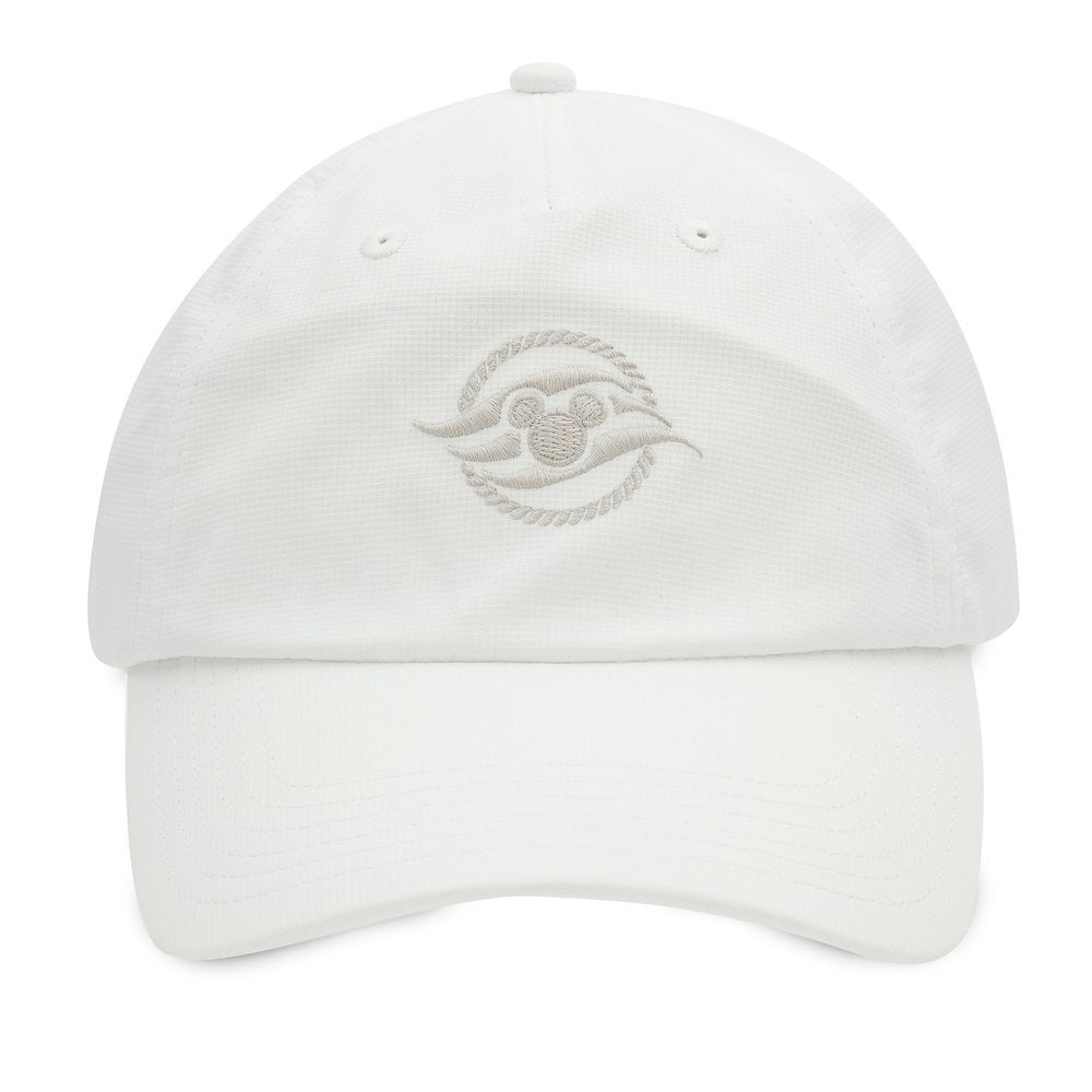Disney Cruise Line Baseball Hat for Adults - White