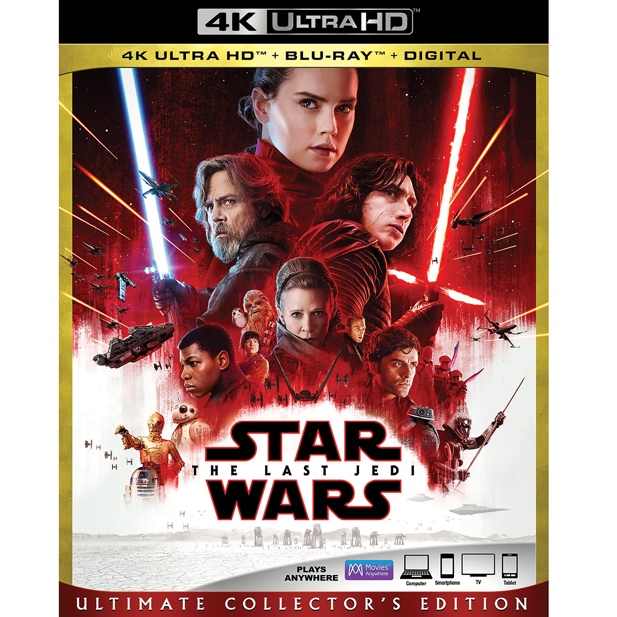 Star Wars: The Last Jedi 4K Ultra HD