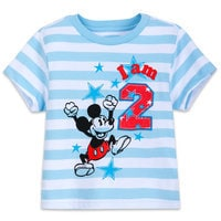 Image of Mickey Mouse Birthday Tee for Boys # 3