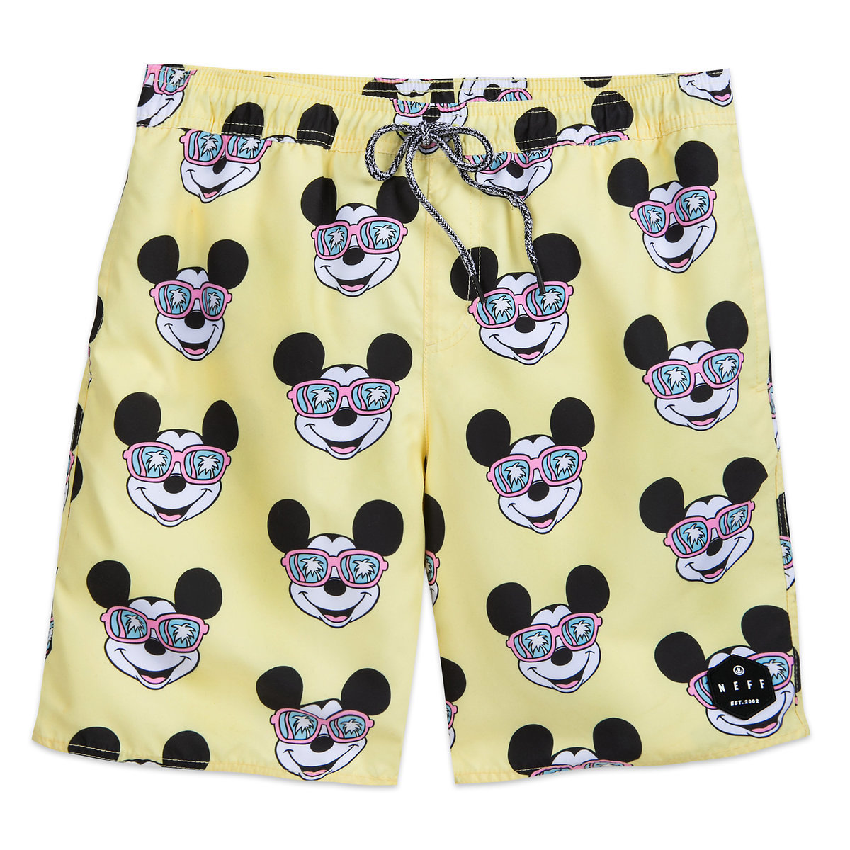 d15f0f9505 Product Image of Mickey Mouse Swim Trunks for Men by Neff # 1