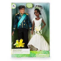 Image of Tiana and Naveen Classic Wedding Doll Set - The Princess and the Frog # 3