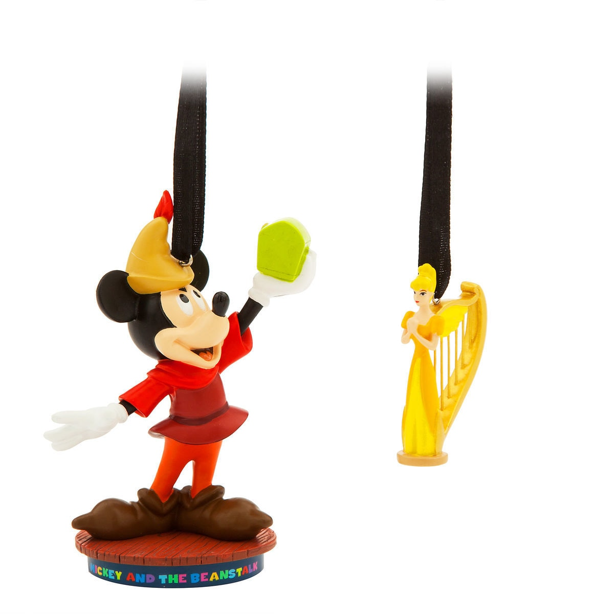 mickey mouse through the years sketchbook ornament set mickey and