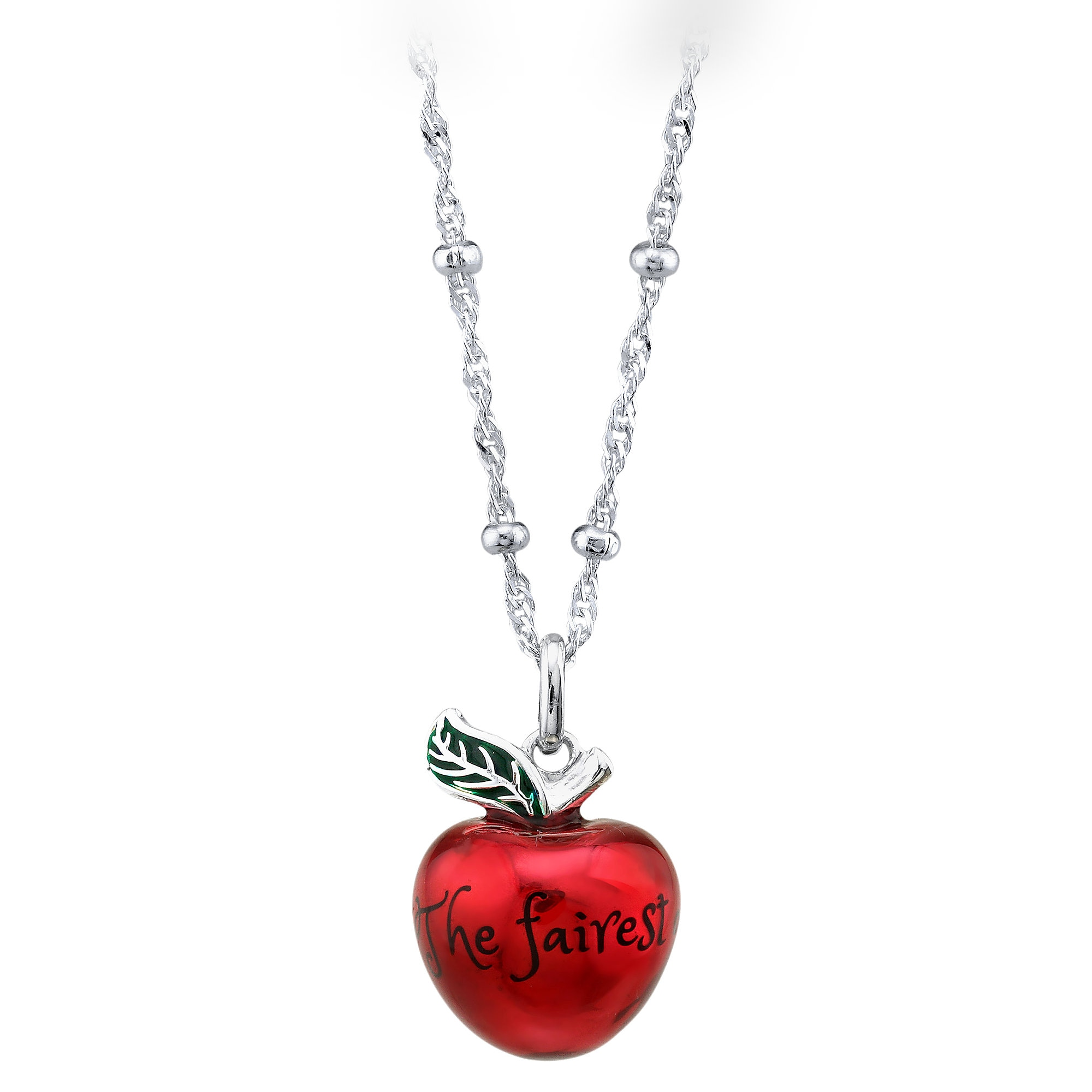 Fairest Apple Necklace by RockLove - Snow White and the Seven Dwarfs