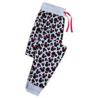 Image of Minnie Mouse Animal Print Lounge Pants for Women # 1