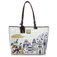 Image of Epcot International Food & Wine Festival 2018 Tote Bag by Dooney & Bourke # 1