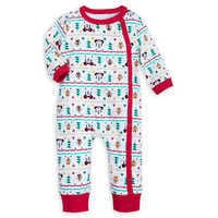 Image of Santa Mickey Mouse First Christmas Gift Set for Baby # 2