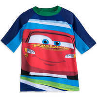 Image of Lightning McQueen Rash Guard for Boys # 1