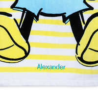 Image of Mickey Mouse Beach Towel for Baby - Personalized # 3