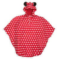 Image of Minnie Mouse Rain Poncho for Adults # 1