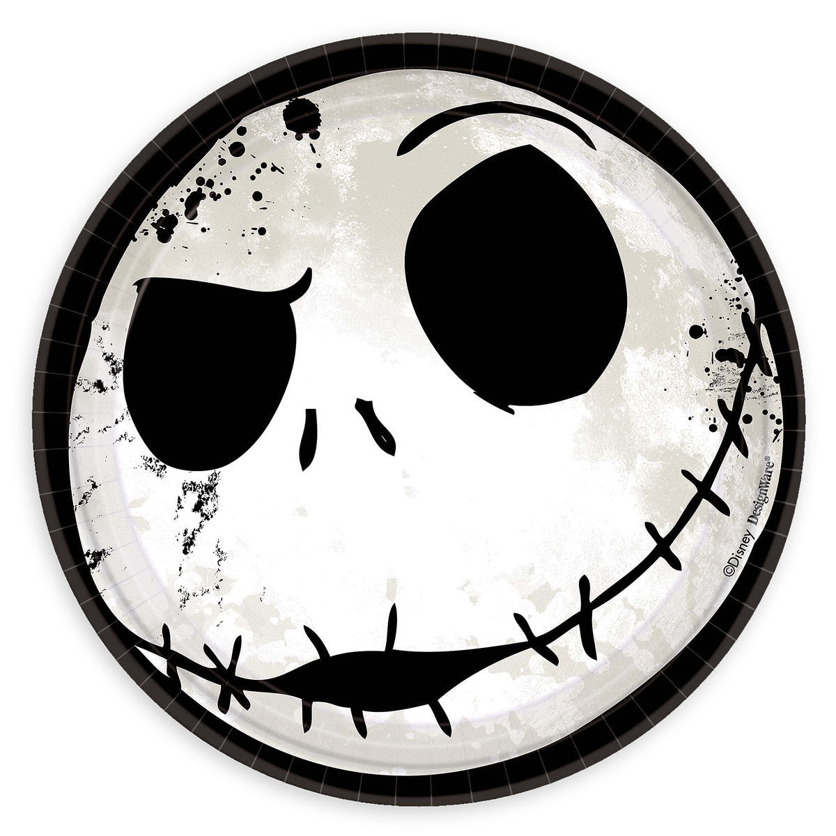 Jack Skellington Dessert Plates - The Nightmare Before Christmas ...
