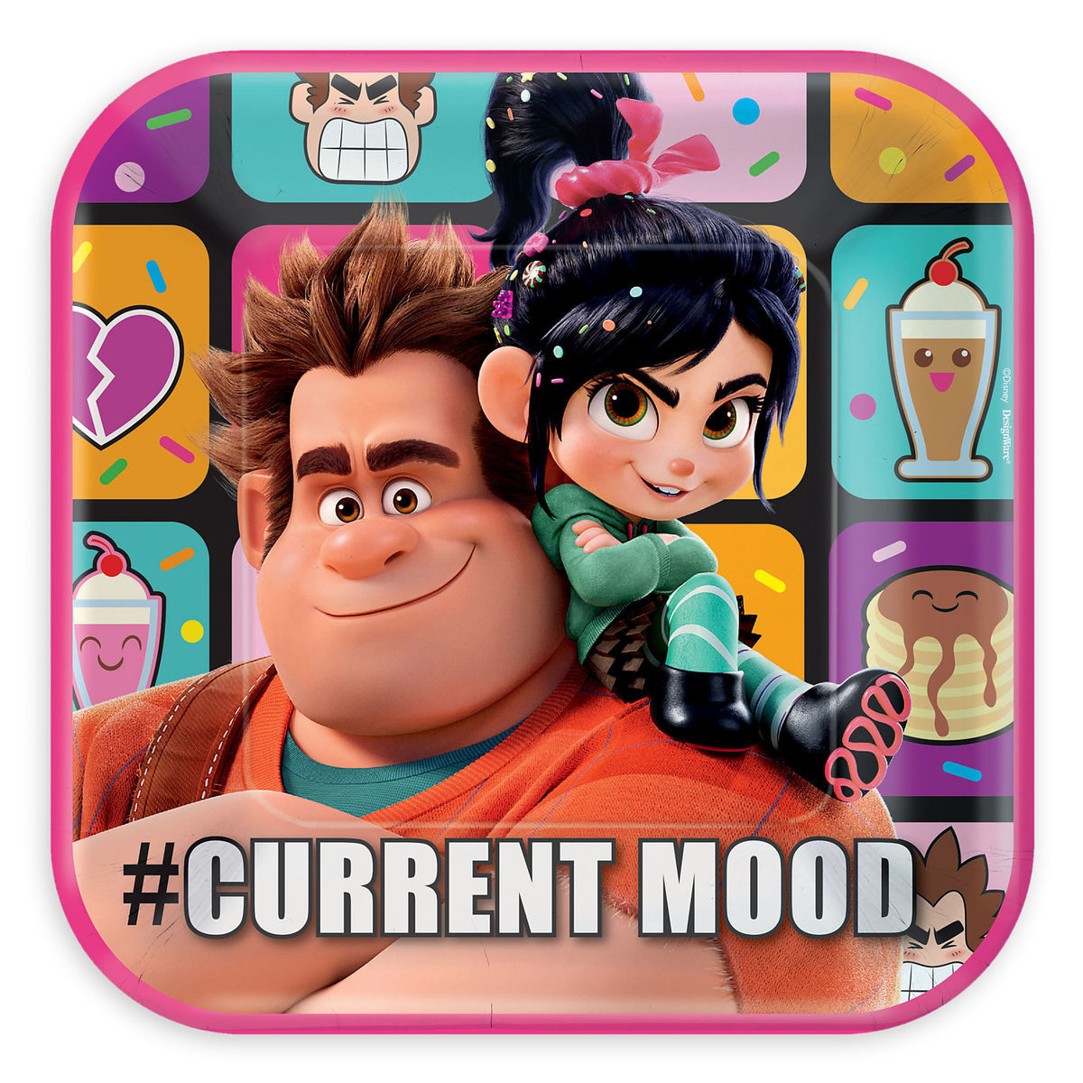 1fea60bf82f7 Product Image of Wreck-It Ralph and Vanellope Lunch Plates   1