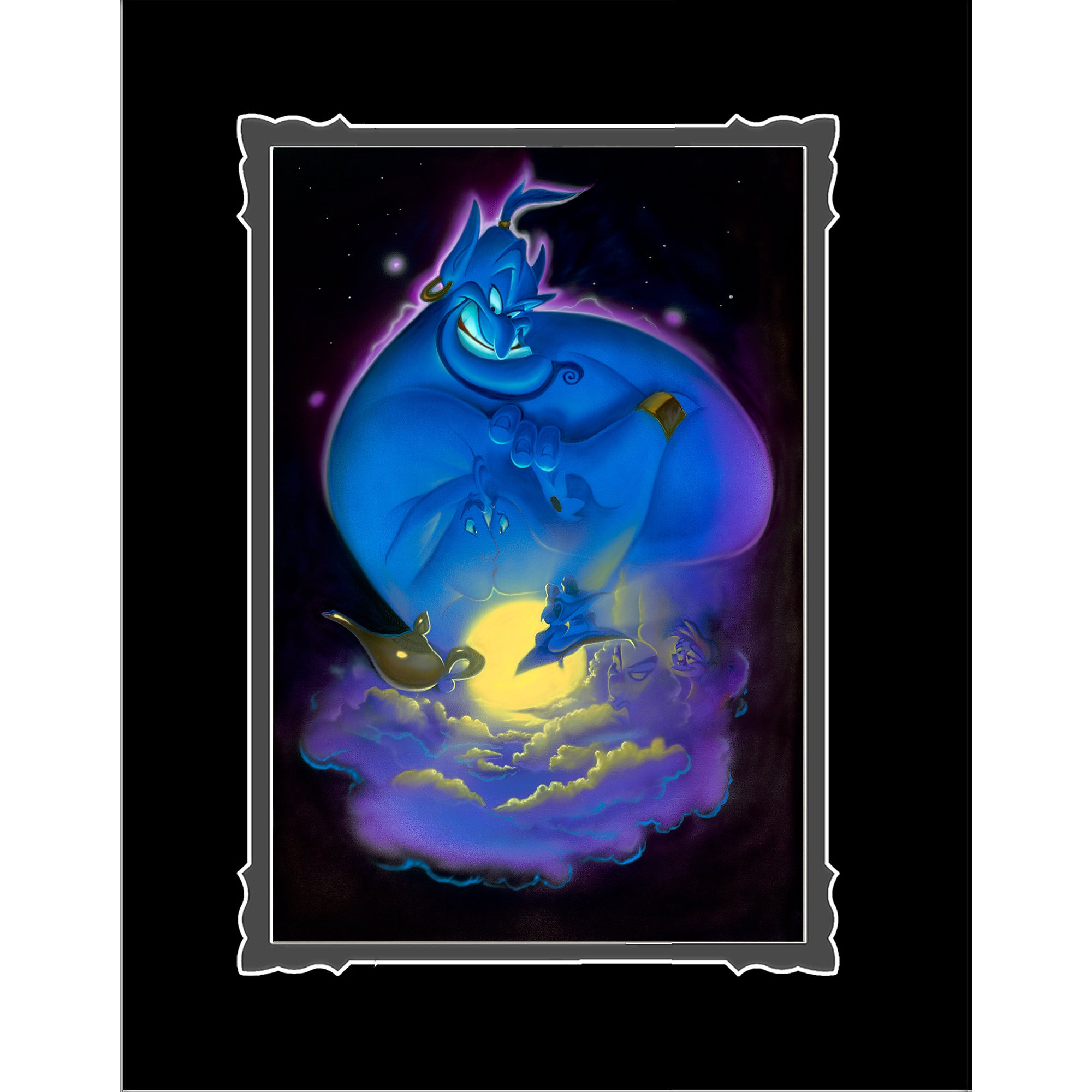 Aladdin ''Your Wish is My Command'' Deluxe Print by Noah