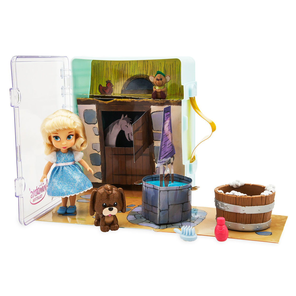 Product Image of Disney Animators' Collection Cinderella Mini Doll Play Set # 1