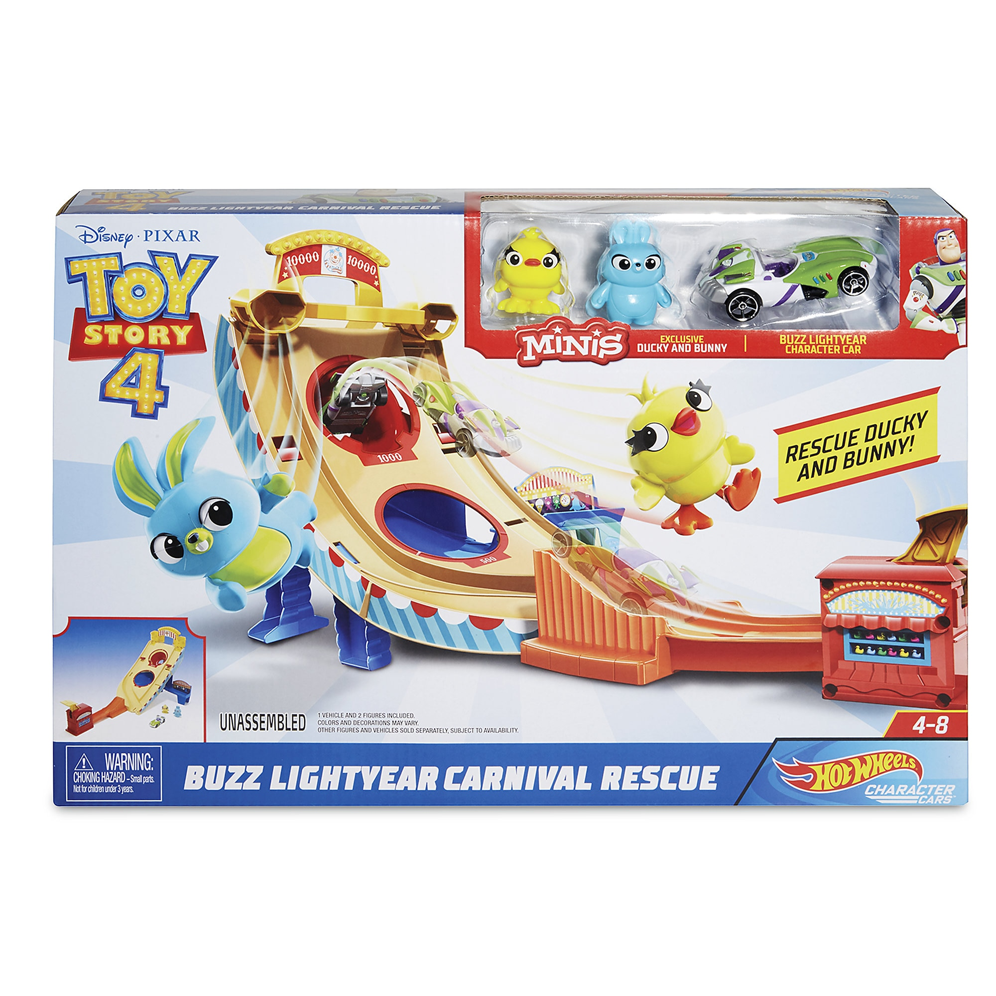 Buzz Lightyear Carnival Rescue Play Set – Toy Story 4 is available online