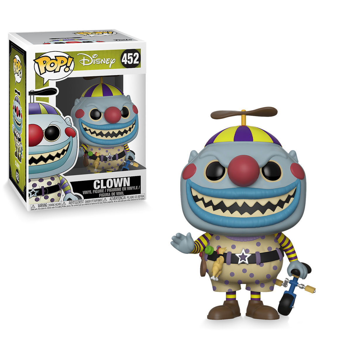 Clown Pop! Vinyl Figure by Funko - The Nightmare Before Christmas ...