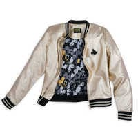 Image of Mickey The True Original Varsity Jacket for Women - Gold Collection # 3