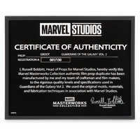 Image of Groot Puppet - Marvel Masterworks Collection Authentic Film Prop Duplicate - Limited Edition # 10