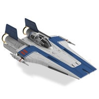 Image of Resistance A-Wing Fighter Model Kit - Star Wars: The Last Jedi # 1