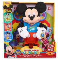 Image of Mickey Mouse Hot Diggity Dance & Play Plush # 2
