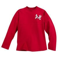 Image of Minnie Mouse Spirit Jersey for Girls - Red # 1
