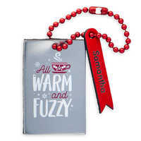 Image of Mickey Mouse ''All Warm and Fuzzy'' Leather Luggage Tag - Personalizable # 1