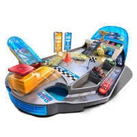 Image of Cars Rollin' Raceway Playset by Mattel # 6