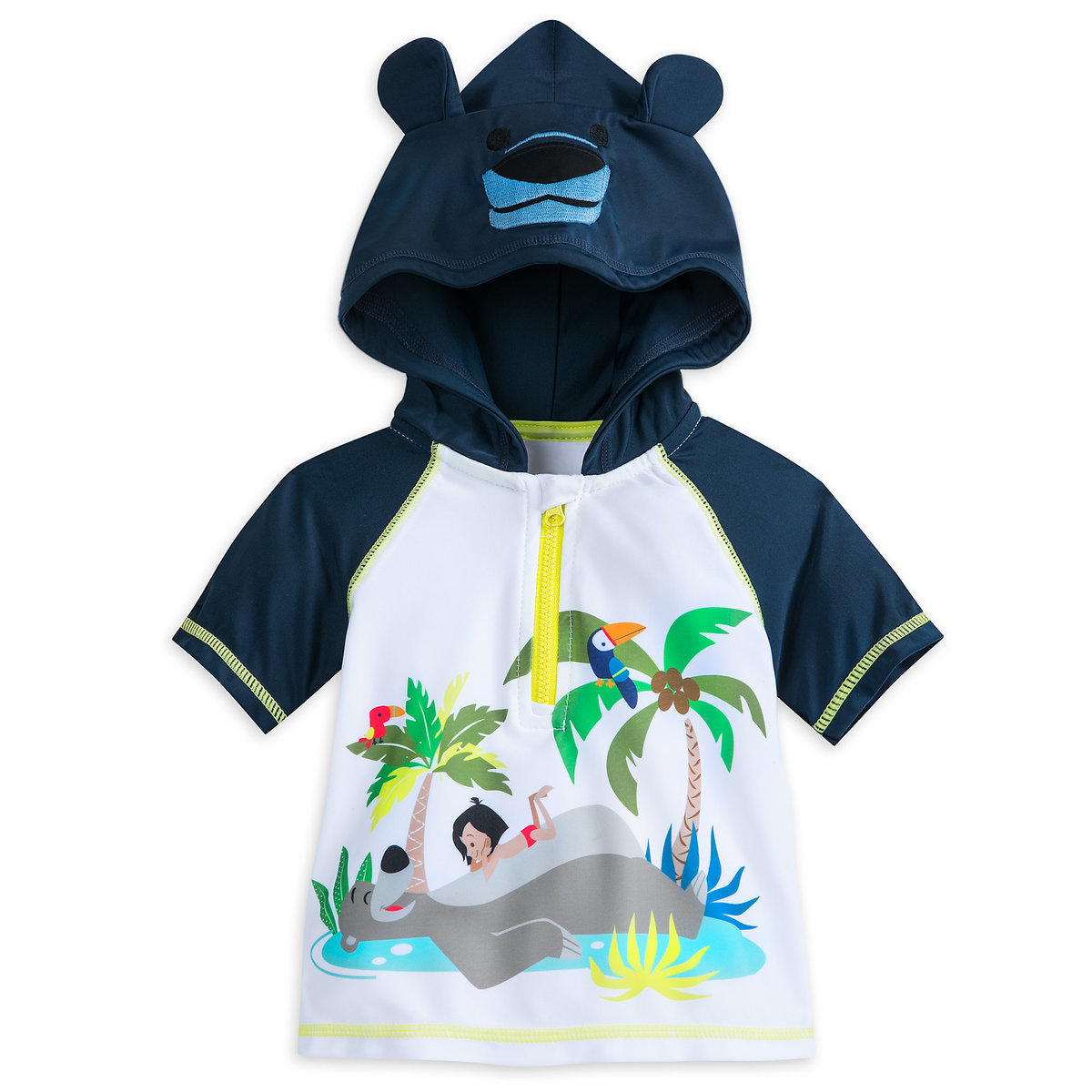 The Jungle Book Hooded Rash Guard For Baby Shopdisney