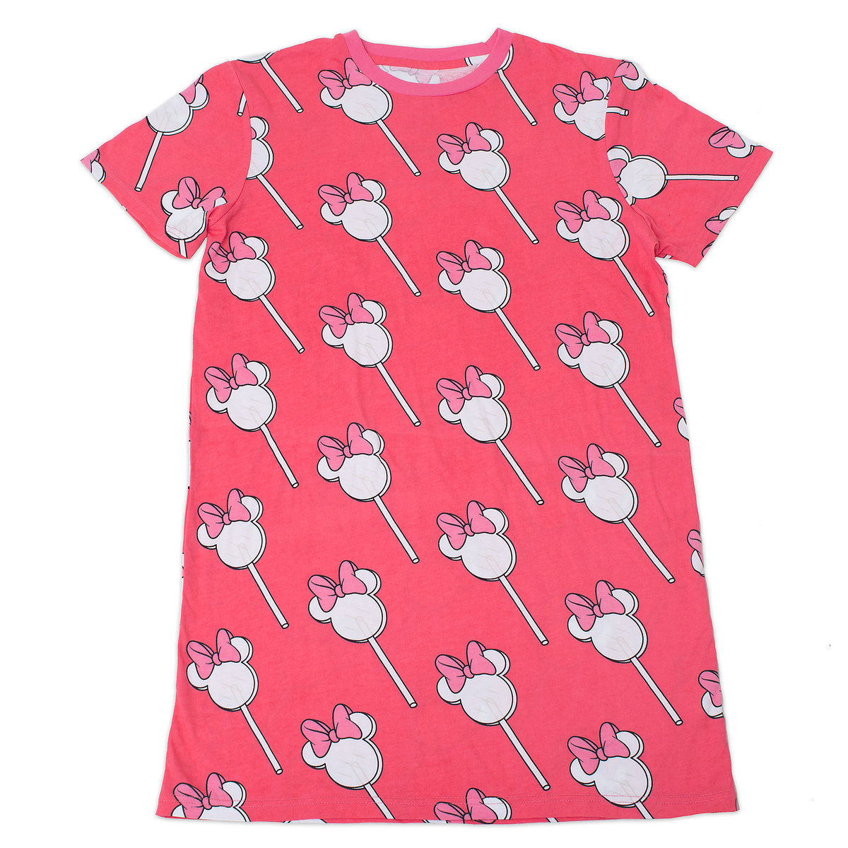 4f1f785b8127 Product Image of Minnie Mouse Lollipop T-Shirt Dress for Adults by  Cakeworthy # 1