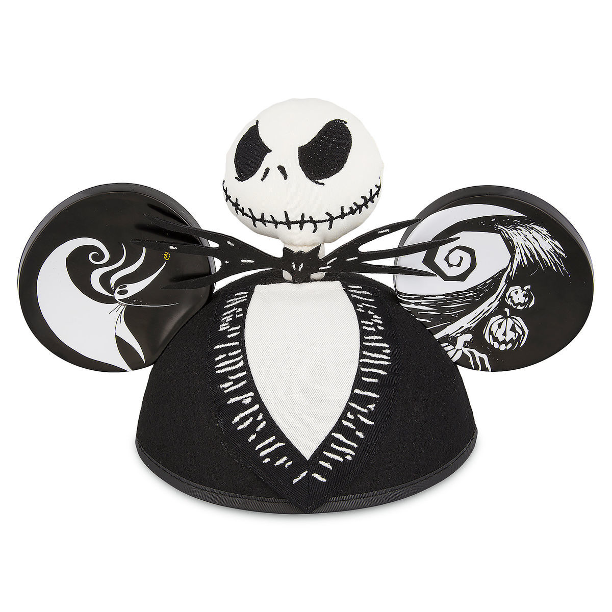 Product Image of Jack Skellington Ear Hat - Tim Burton's The Nightmare Before Christmas # 1