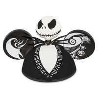Image of Jack Skellington Ear Hat - Tim Burton's The Nightmare Before Christmas # 1