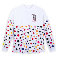 Image of Minnie Mouse Polka Dot Spirit Jersey for Adults - Disneyland # 1