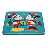 Image of Mickey and Minnie Mouse Holiday Trivet # 2