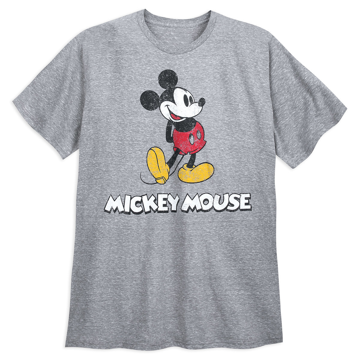 65518d1a Product Image of Mickey Mouse Classic T-Shirt for Men - Gray # 1