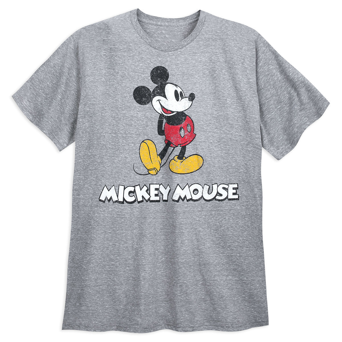 Product Image of Mickey Mouse Classic T-Shirt for Men - Gray   1 e1ba234c60a