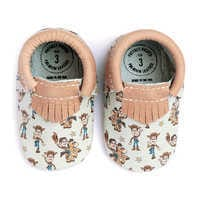 Image of Woody and Bullseye Moccasins for Baby by Freshly Picked # 4