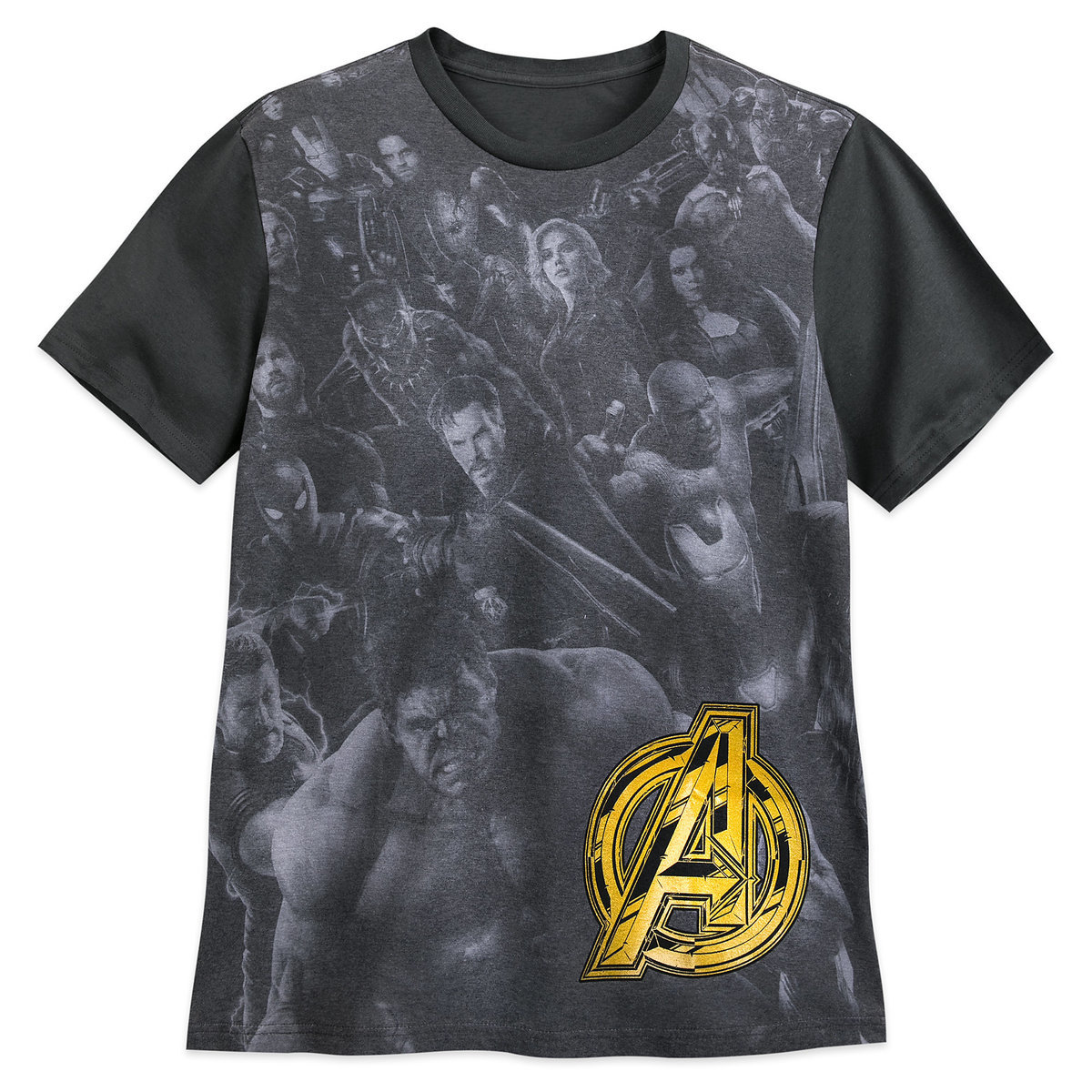 8d00fbb05fab4 Product Image of Marvel s Avengers  Infinity War Cast T-Shirt for Men   1