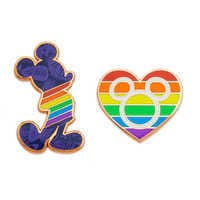 Image of Rainbow Disney Collection Mickey Mouse Pin Set # 1