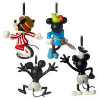 Image of Mickey Mouse Through the Years Mini Ornament Set 1 # 2