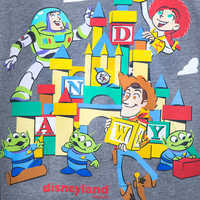 Image of Toy Story Land T-Shirt for Adults - Disneyland # 3