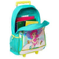 Image of The Little Mermaid Rolling Backpack - Personalized # 5