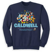 Image of Mickey Mouse and Friends Family Vacation Pullover for Kids - Disneyland 2019 - Customized # 1