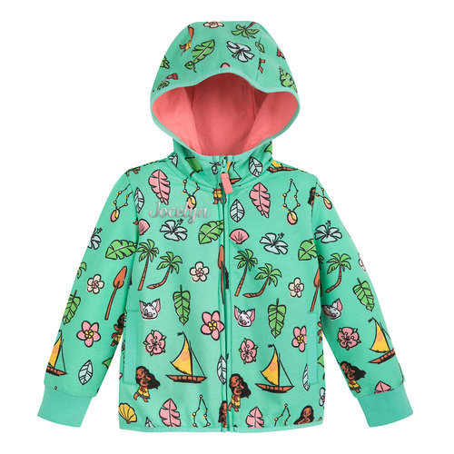 Moana Zip-Up Hoodie for Kids ? Personalized