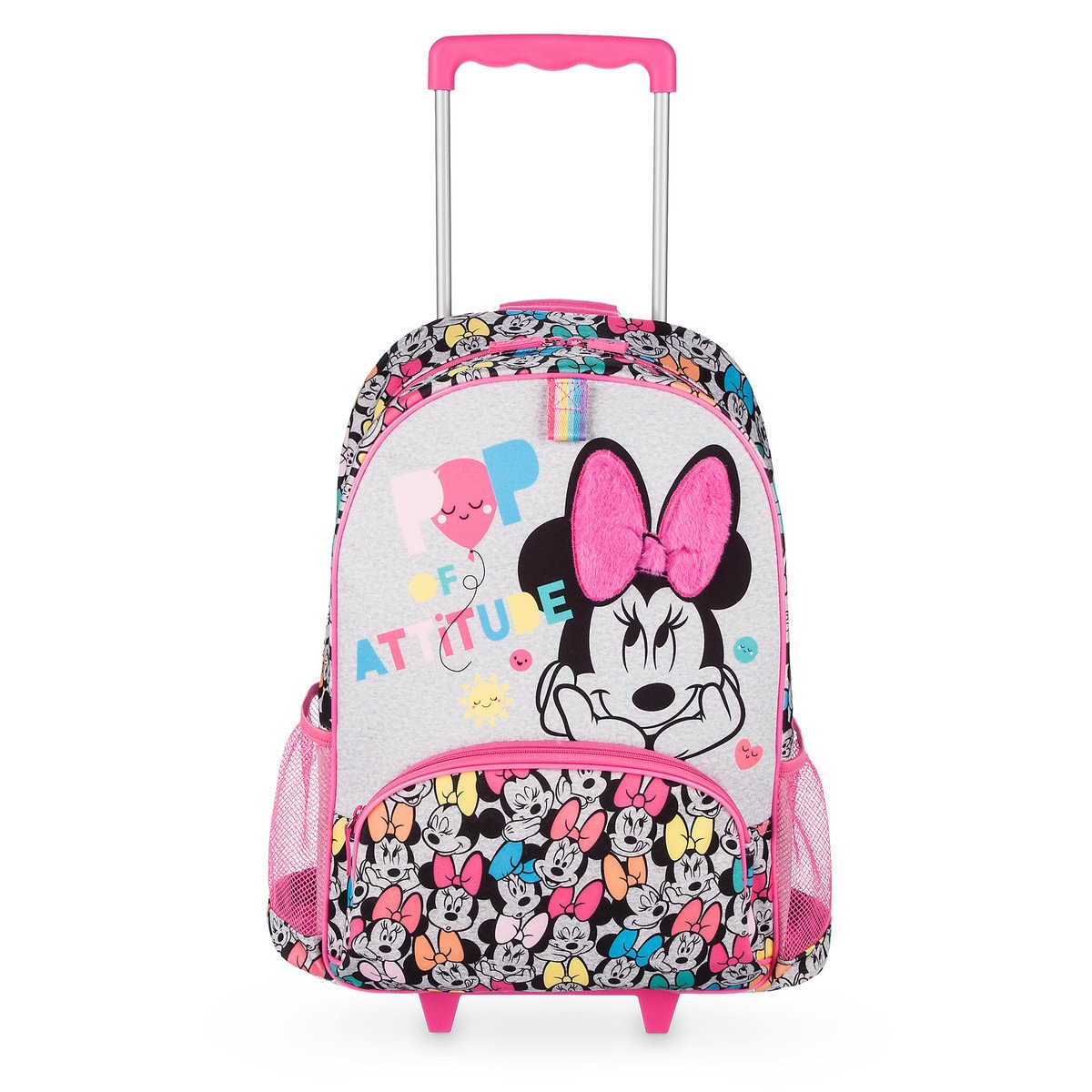 cdcd4b7f23 Product Image of Minnie Mouse Rolling Backpack - Personalizable   1