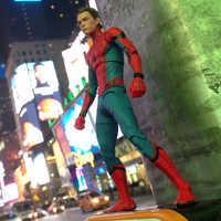 Image of Spider-Man Action Figure - Marvel Select - Spider-Man: Homecoming - 7'' # 3