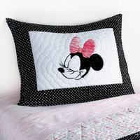 Minnie Mouse Mad About Minnie Sham by Ethan Allen