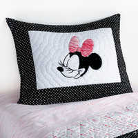 Image of Minnie Mouse Mad About Minnie Sham by Ethan Allen # 1