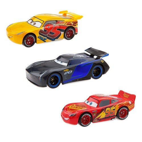 Cars Florida 500 Deluxe Die Cast Set