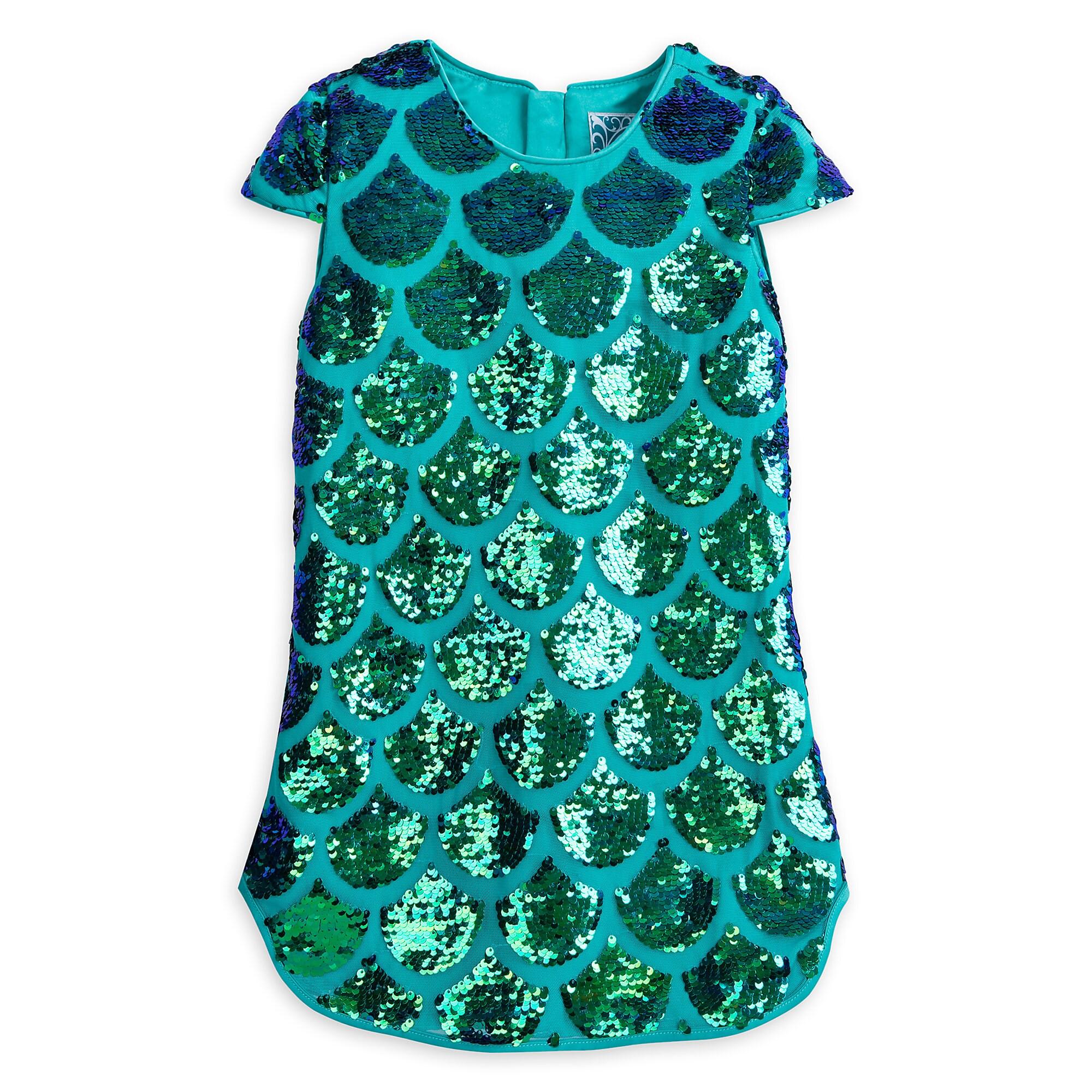 5124e1a83110 Ariel Fancy Dress for Girls - The Little Mermaid