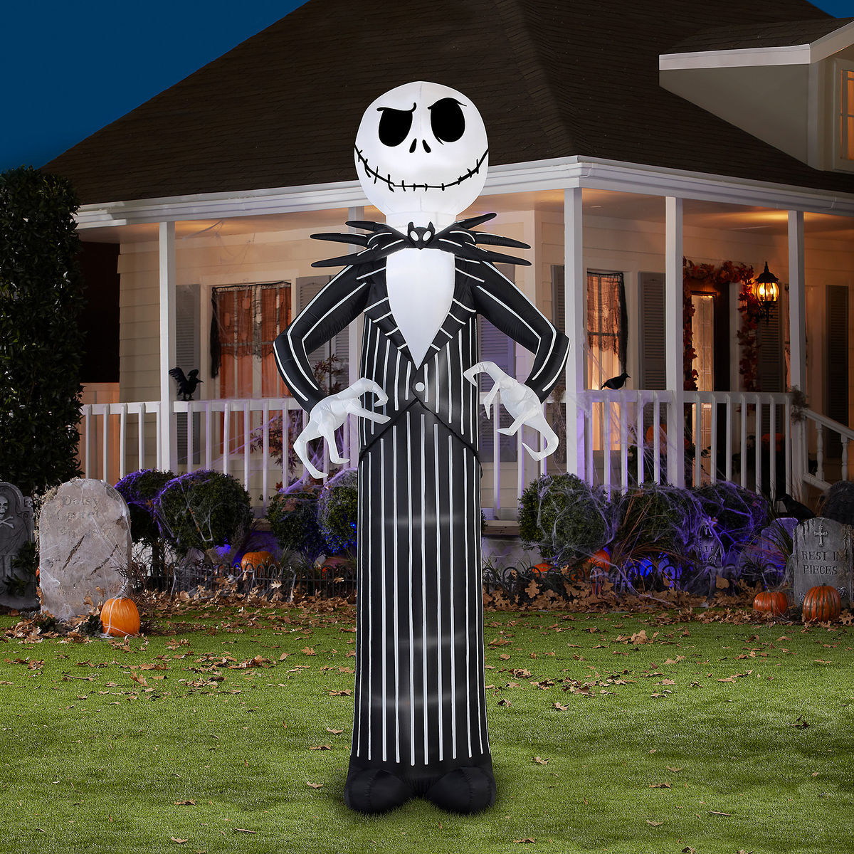 Jack Skellington Airblown Inflatable - The Nightmare Before ...